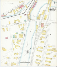 Montpelier, VT Fire Insurance 1899 Sheet 5 - Old Town Map Reprint