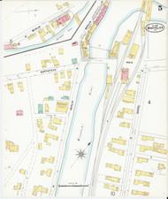 Montpelier, VT Fire Insurance 1899 Sheet 5 - Old Town Map Reprint