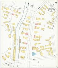 Montpelier, VT Fire Insurance 1899 Sheet 6 - Old Town Map Reprint