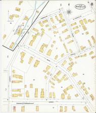 Montpelier, VT Fire Insurance 1899 Sheet 8 - Old Town Map Reprint