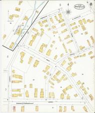 Montpelier, VT Fire Insurance 1899 Sheet 8 - Old Town Map Reprint