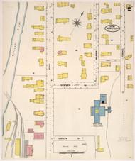 Montpelier, VT Fire Insurance 1905 Sheet 2 - Old Town Map Reprint