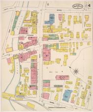 Montpelier, VT Fire Insurance 1905 Sheet 4 - Old Town Map Reprint