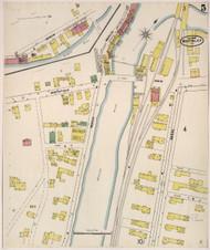 Montpelier, VT Fire Insurance 1905 Sheet 5 - Old Town Map Reprint