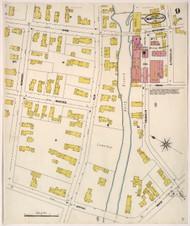 Montpelier, VT Fire Insurance 1905 Sheet 9 - Old Town Map Reprint
