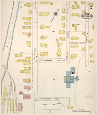 Montpelier, VT Fire Insurance 1909 Sheet 2 - Old Town Map Reprint