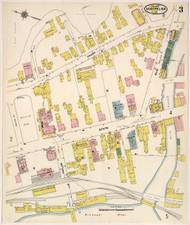 Montpelier, VT Fire Insurance 1909 Sheet 3 - Old Town Map Reprint