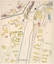 Montpelier, VT Fire Insurance 1909 Sheet 5 - Old Town Map Reprint