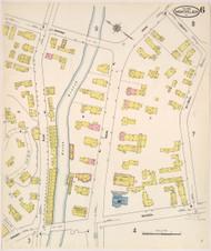 Montpelier, VT Fire Insurance 1909 Sheet 6 - Old Town Map Reprint