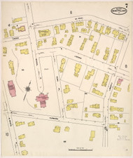 Montpelier, VT Fire Insurance 1909 Sheet 7 - Old Town Map Reprint