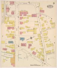 Montpelier, VT Fire Insurance 1915 Sheet 3 - Old Town Map Reprint