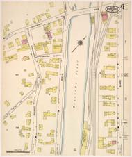 Montpelier, VT Fire Insurance 1915 Sheet 6 - Old Town Map Reprint