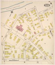 Montpelier, VT Fire Insurance 1915 Sheet 9 - Old Town Map Reprint