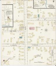 Newport, VT Fire Insurance 1885 Sheet 2 - Old Town Map Reprint