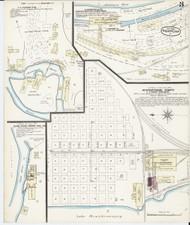 Newport, VT Fire Insurance 1885 Sheet 3 - Old Town Map Reprint