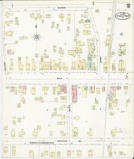 Poultney, VT Fire Insurance 1897 Sheet 2 - Old Town Map Reprint