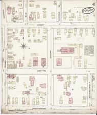 Rutland, VT Fire Insurance 1885 Sheet 4 - Old Town Map Reprint