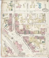 Rutland, VT Fire Insurance 1885 Sheet 5 - Old Town Map Reprint
