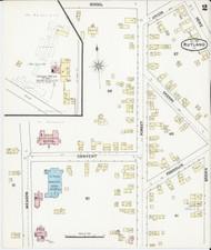 Rutland, VT Fire Insurance 1890 Sheet 2 - Old Town Map Reprint