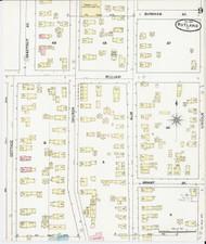Rutland, VT Fire Insurance 1890 Sheet 9 - Old Town Map Reprint