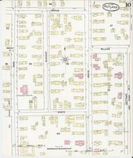 Rutland, VT Fire Insurance 1890 Sheet 10 - Old Town Map Reprint