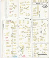Rutland, VT Fire Insurance 1895 Sheet 3 - Old Town Map Reprint