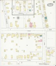 Rutland, VT Fire Insurance 1895 Sheet 8 - Old Town Map Reprint