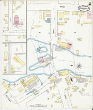Vergennes, VT Fire Insurance 1892 Sheet 2 - Old Town Map Reprint