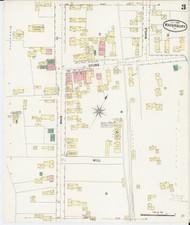 Waterbury, VT Fire Insurance 1889 Sheet 3 - Old Town Map Reprint