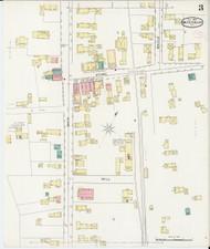 Waterbury, VT Fire Insurance 1894 Sheet 3 - Old Town Map Reprint