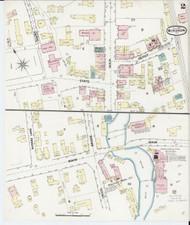 Windsor, VT Fire Insurance 1889 Sheet 2 - Old Town Map Reprint