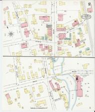 Windsor, VT Fire Insurance 1894 Sheet 2 - Old Town Map Reprint