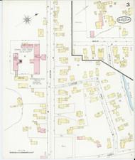 Windsor, VT Fire Insurance 1894 Sheet 3 - Old Town Map Reprint