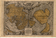 1531 World Map by Fine