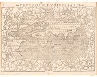 1550 World Map by Munster
