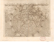 1561 World Map by Gastaldo