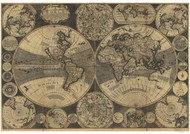 1702 World Map by Godson
