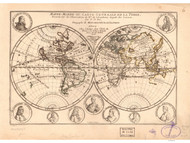 1705 World Map by Fer A