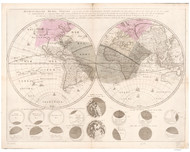 1730 World Map by Ottens