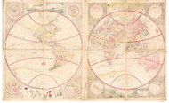 1792 World Map by Shiba