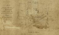 13 Walker Maryland Ave 1 1870x Washington DC Block Map - Old Map Reprint