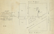 13 Walker Maryland Ave 2 1870x Washington DC Block Map - Old Map Reprint
