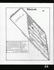 Wenlock BW Lotting Vermont Town Crafts