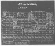 Charleston (Navy Old) Lotting Vermont Town Dewart