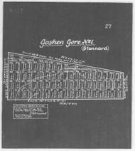 Stamford (Goshen Gore 1 Old) 2 Lotting Vermont Town Dewart