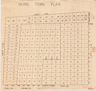 Barre 15 Lotting Vermont Town VT State Archives