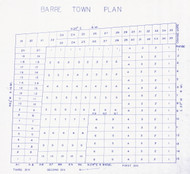 Barre 16 Lotting Vermont Town VT State Archives
