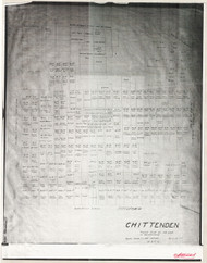 Chittenden 51 Lotting Vermont Town VT State Archives