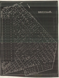 Danville 59 Lotting Vermont Town VT State Archives