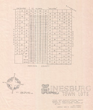 Hinesburg Lotting Vermont Town VT State Archives